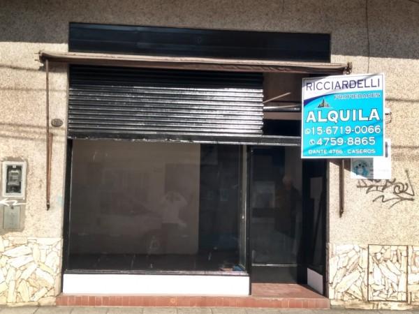 ALQUILER - LOCAL - DEPOSITO - IDEAL PAGO FACIL - RAPIPAGO- CASEROS NORTE
